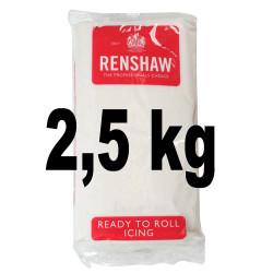 Pâte à sucre Regalice blanche 2,5 kilos
