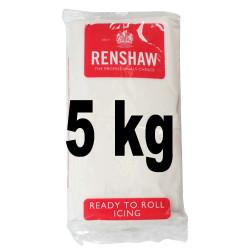 Pâte à sucre Regalice blanche 5 kilos
