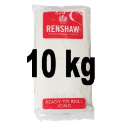 Pâte à sucre Regalice blanche 10 kilos