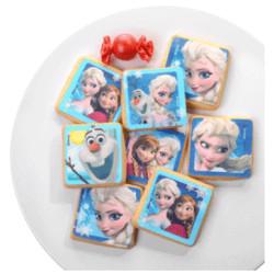 Kit en feuille de sucre La Reine des Neiges