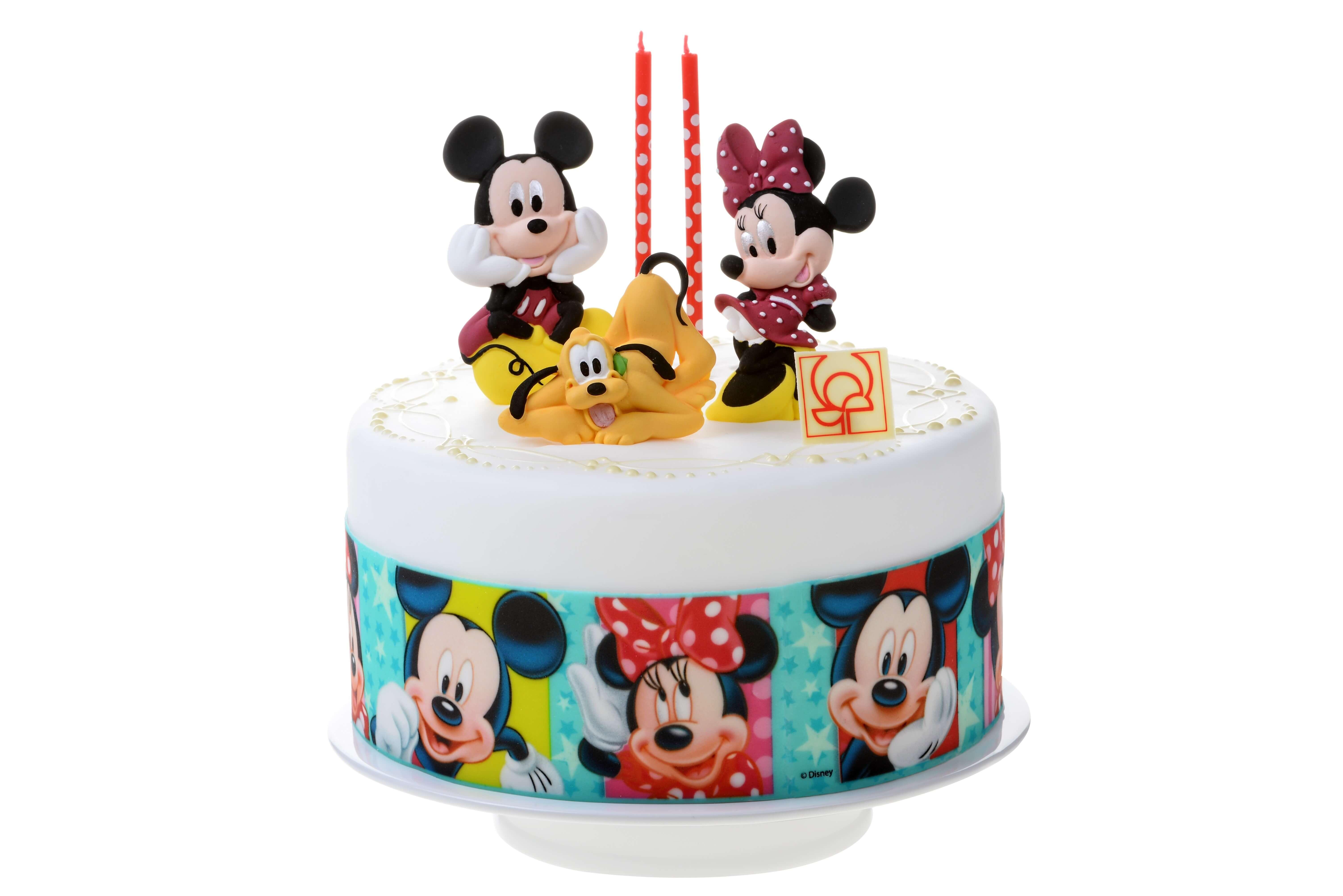 Bandes de sucre pour g teaux mickey et minnie planete gateau sarl kitay - Gateau anniversaire disney ...