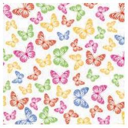 Feuilles de transfert à papillons pour Chocolat (2pcs)