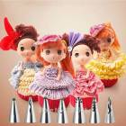 Kit de 7 Douilles russes 'Jupes de Princesses'