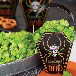 Sacs bonbons cercueil Halloween Wilton
