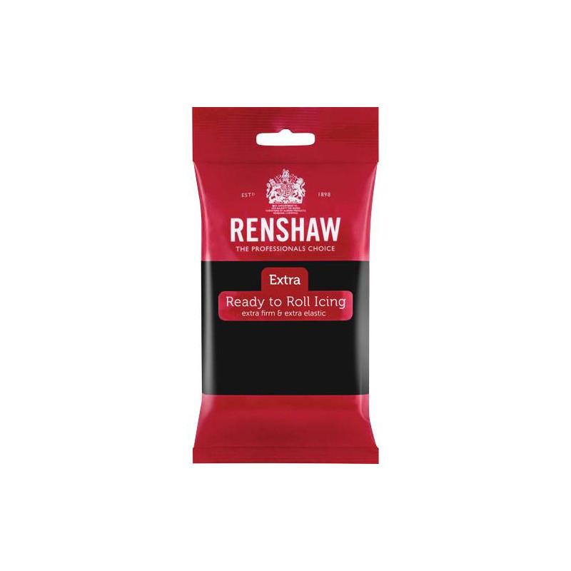 Pâte à sucre ROUGE EXTRA 250g de RENSHAW