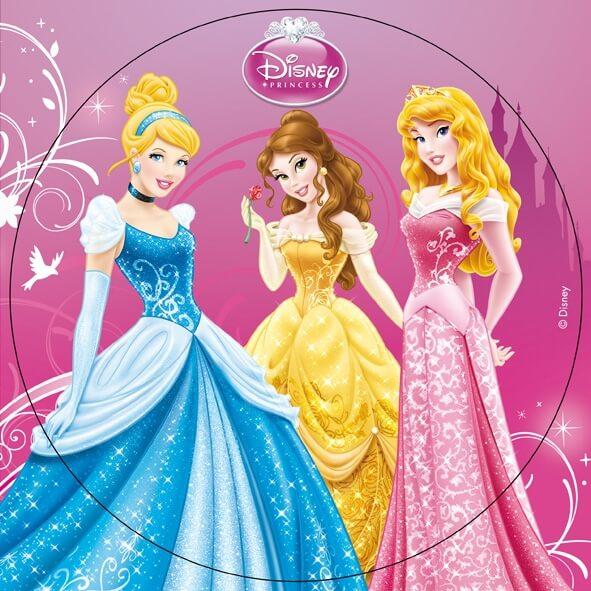 Gateaux Princesse Disney: Disque Azyme Disney Princesse -1