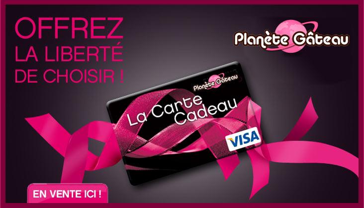 Carte Cake Planet Gift Card