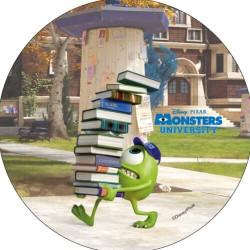 Disque Monster et company avec livres