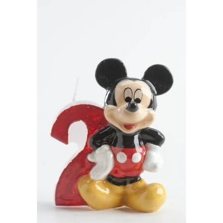 Mickey Candle 2 years old