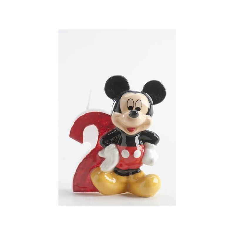 Vela Mickey 2 años