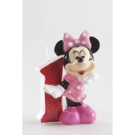 Bougie 1 an Minnie
