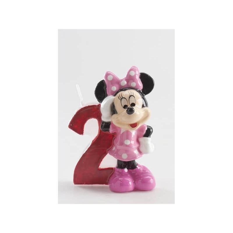 Bougie 2 ans Minnie