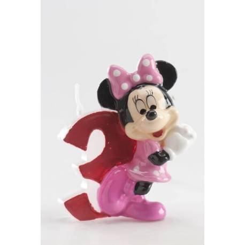 Bougie 3 ans Minnie