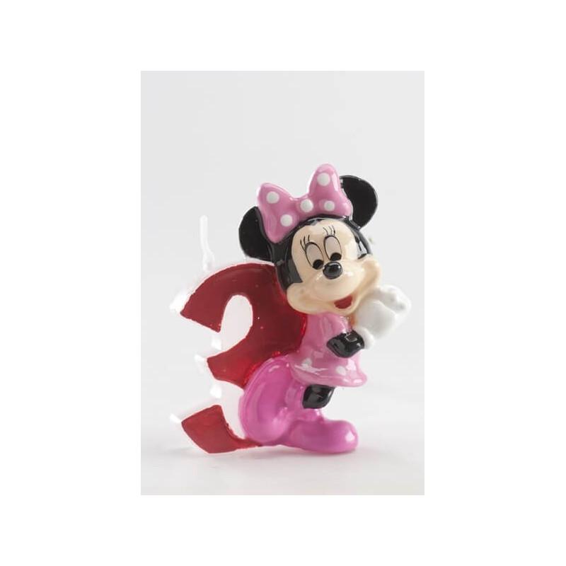 Vela Minnie 3 años