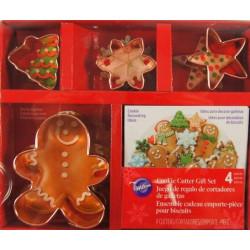 4 cutters Noël