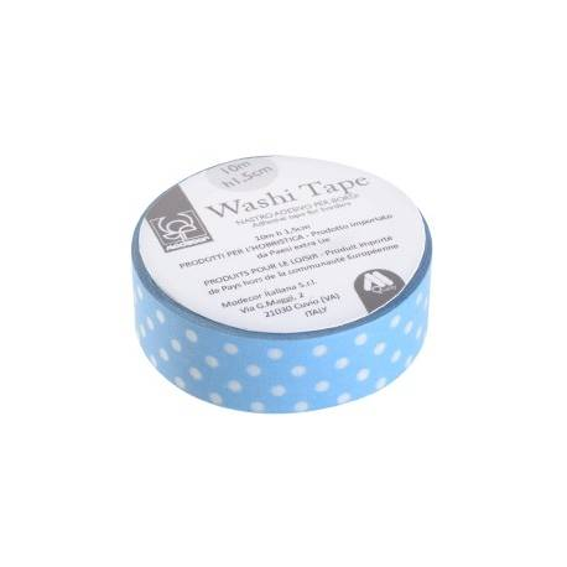 Masking Tape Washi Tape dots sky blue