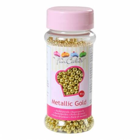 Perles de sucre OR de 4mm