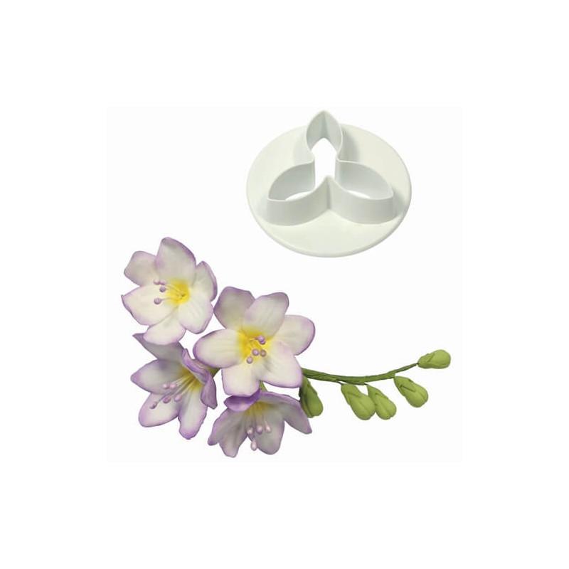 emporte-pièce fleurs de freesia