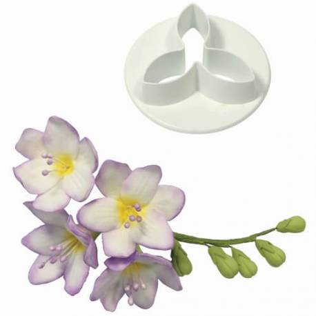 freesia flower cookie cutter