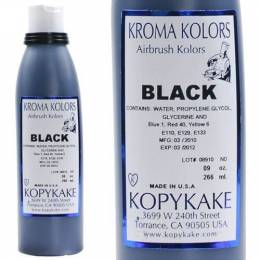 Dye black Kroma for airbrush