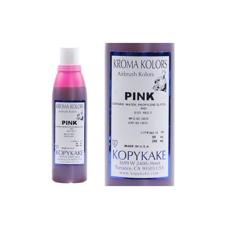 Colorant alimentaire Kroma ROSE pour aérographe