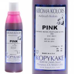Kroma pink dye for airbrush