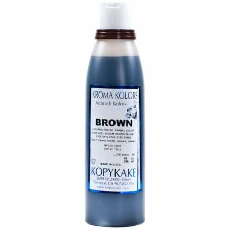 Kroma brown colour for airbrush