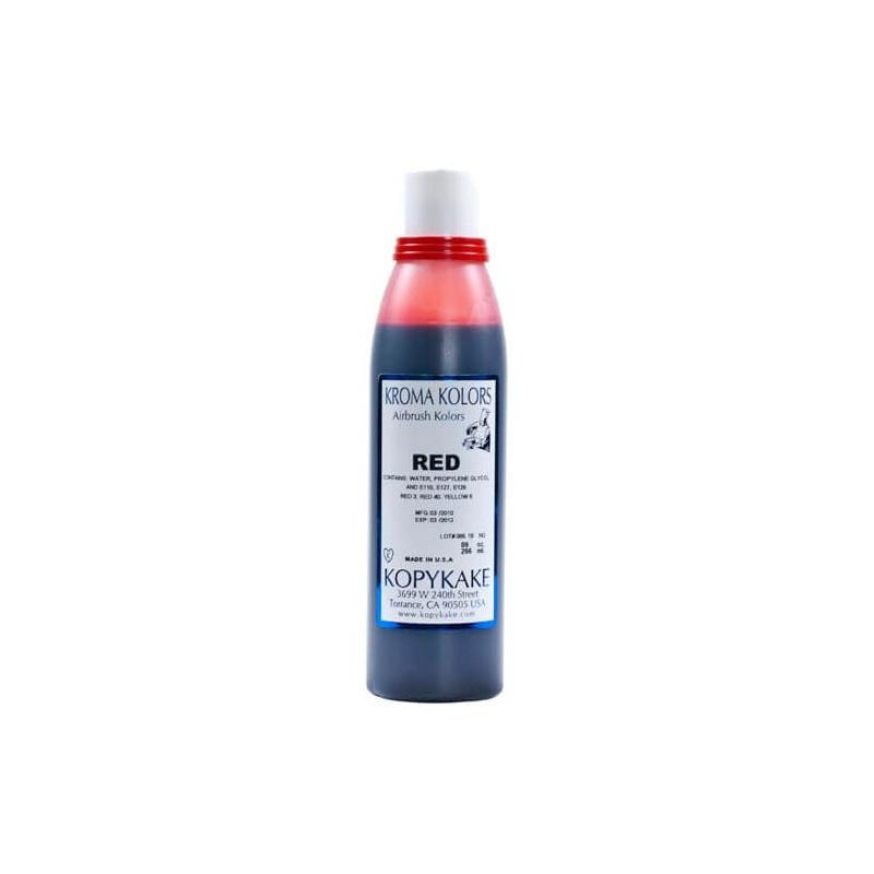 Colorante para alimentos Kroma Rojo para Aerografo