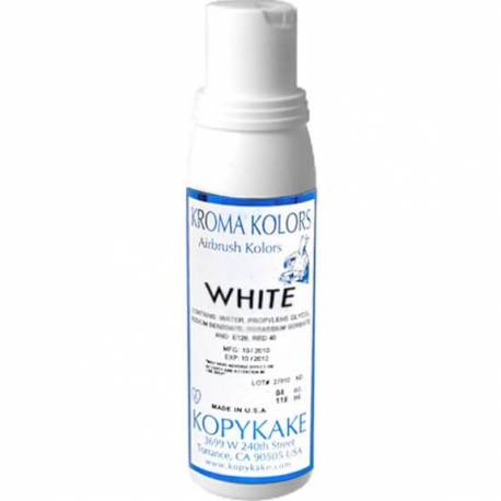 Kroma WHITE airbrush edible colouring agent