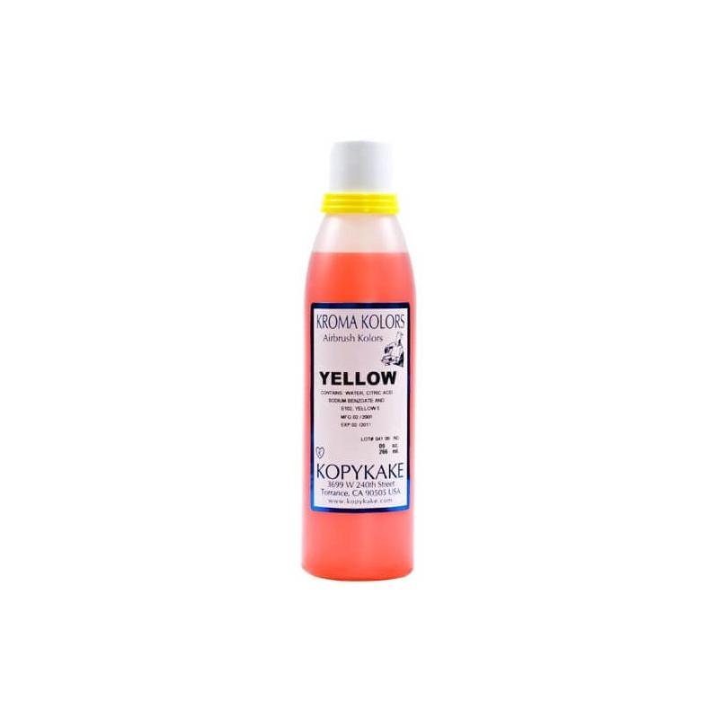 Colorante alimentario Kroma Amarillo para aerógrafo