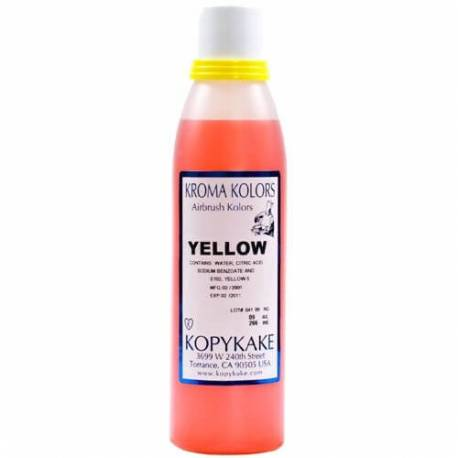 Edible colouring agent Kroma YELLOW for airbrush