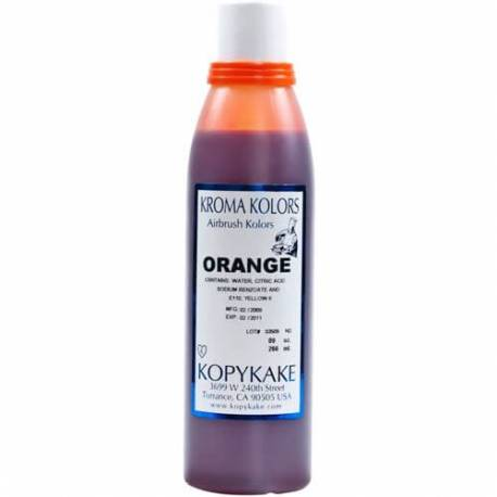 Kroma ORANGE edible colouring agent for airbrush