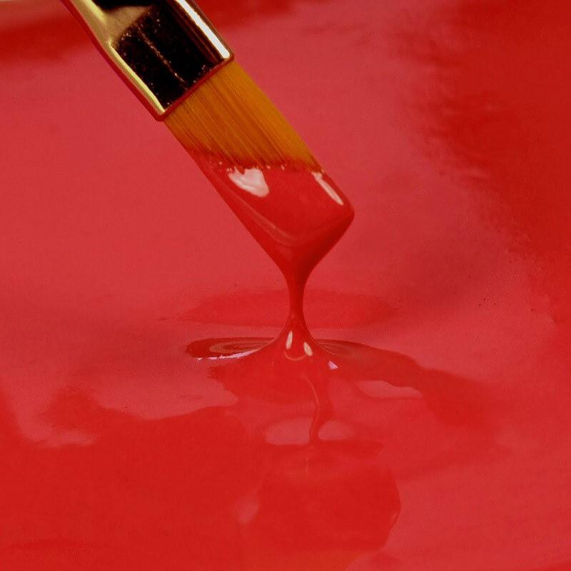 Peinture alimentaire 'Paint It' Rainbow Dust ROUGE