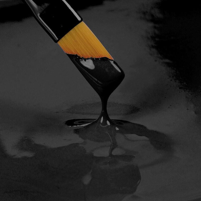 Peinture alimentaire 'Paint It' Rainbow Dust NOIR