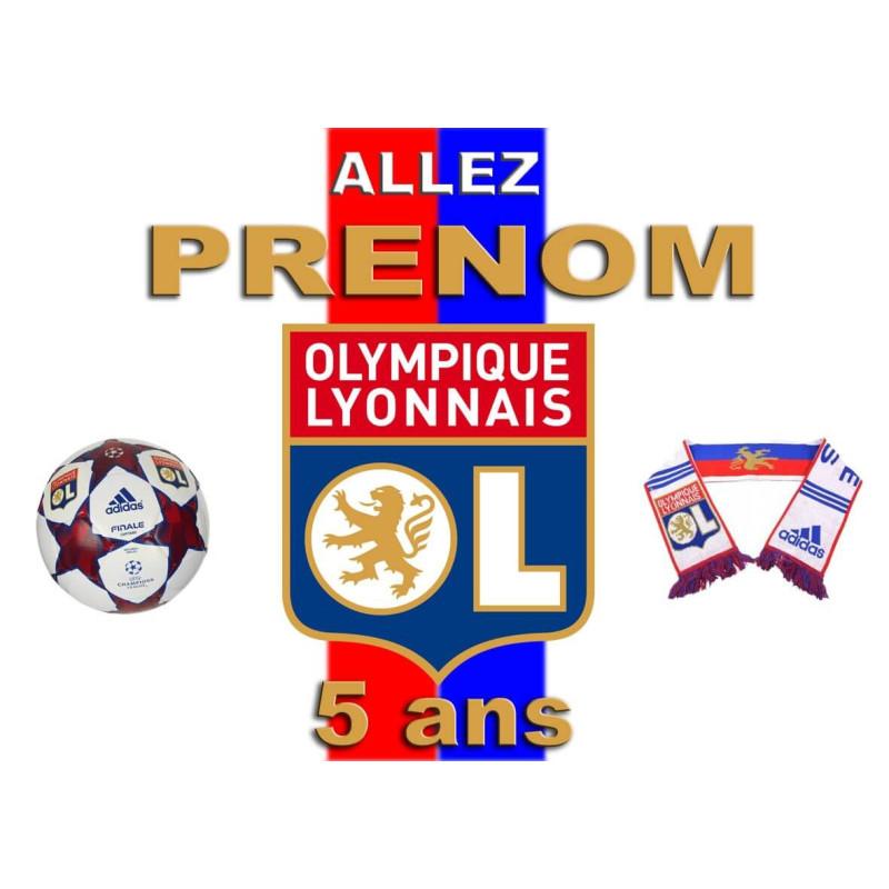 """OLYMPIC LYONNAIS"" Edible Printing Service"