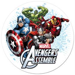 Disque sucre Avengers Hulk -1