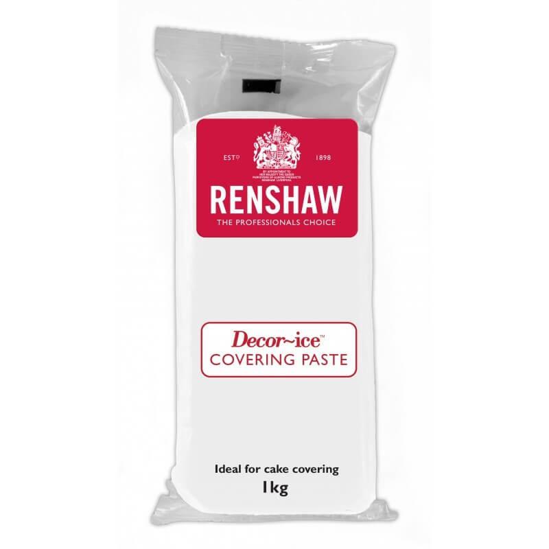 Pâte à sucre Renshaw BLANCHE spéciale COUVERTURE 1kg