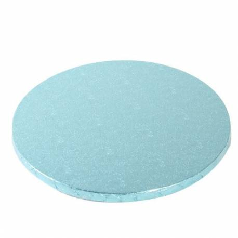 Base gruesa AZUL para pastel redonda 30cm