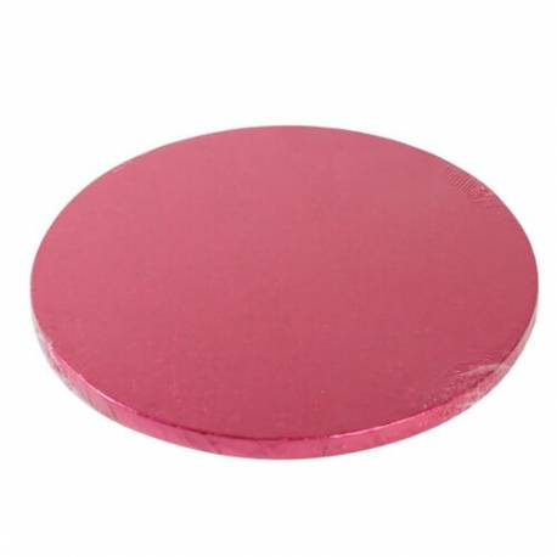 Drum ROUND cake board CHERRY thick 30cm
