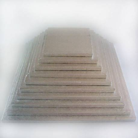 Thick tray for square cake 25 cm