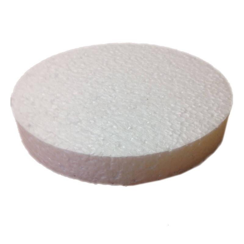 DUMMY Cake ROND Topper polystyrène Diam 20cm, H 2cm