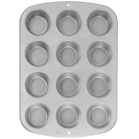 12 cavity pan for MINI muffins and cupcakes
