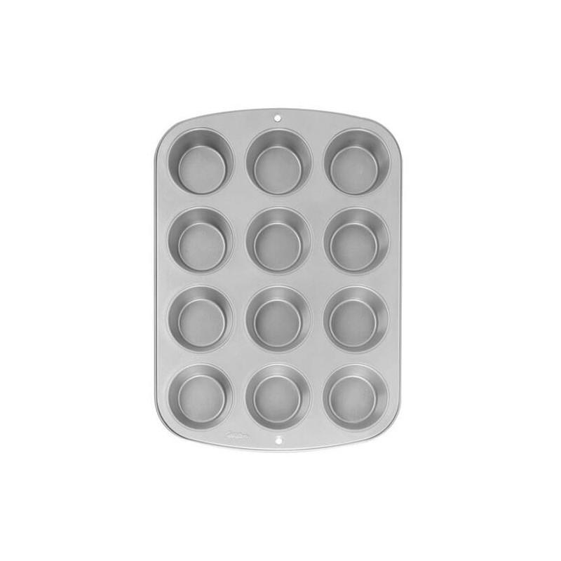 Molde de 12 cavidades para magdalenas y cupcakes MINI