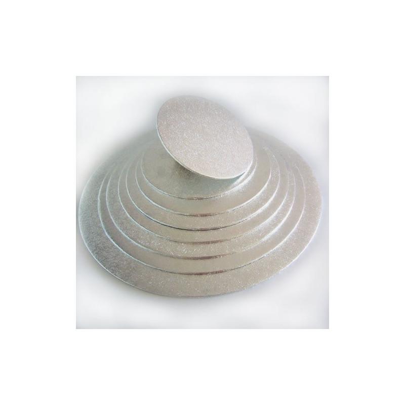 Bandeja de pastelería redonda y delgada 17,5 cm