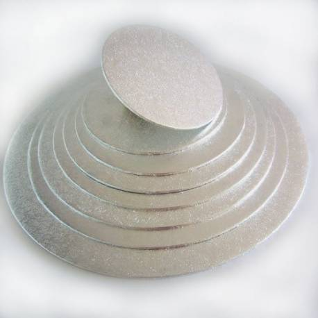Cake Board thin 3mm ROUND 17.5cm