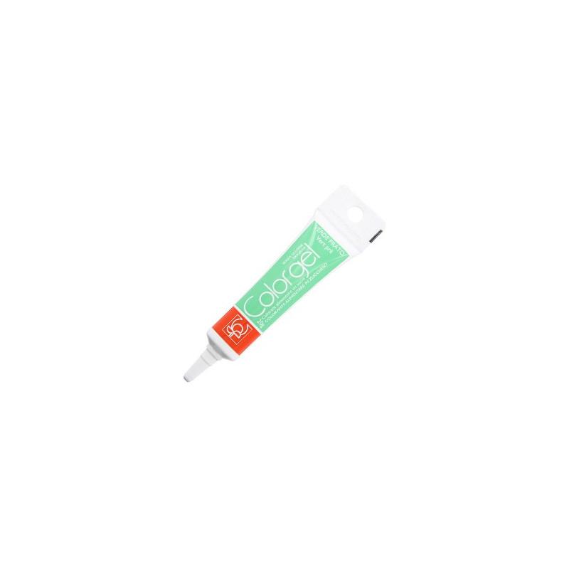 Color gel dye tube tube in green gel prairie