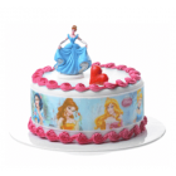 Bandes de sucre pour gâteaux Princesses