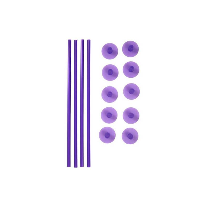 Tapas de fijación para pilares fino de plástico Wilton