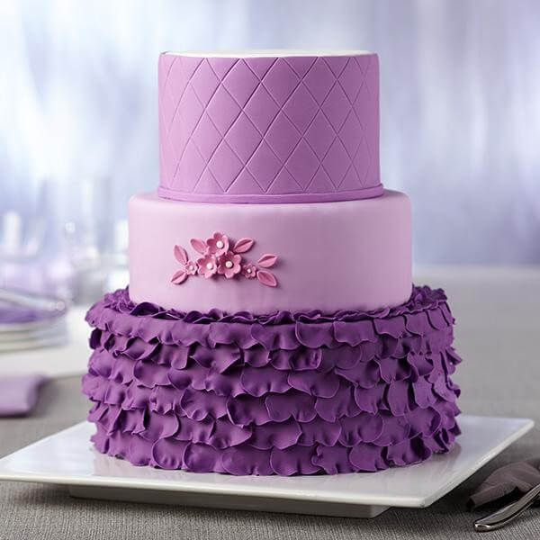 Roll with quilted texture - PLANETE GATEAU - Cake design et