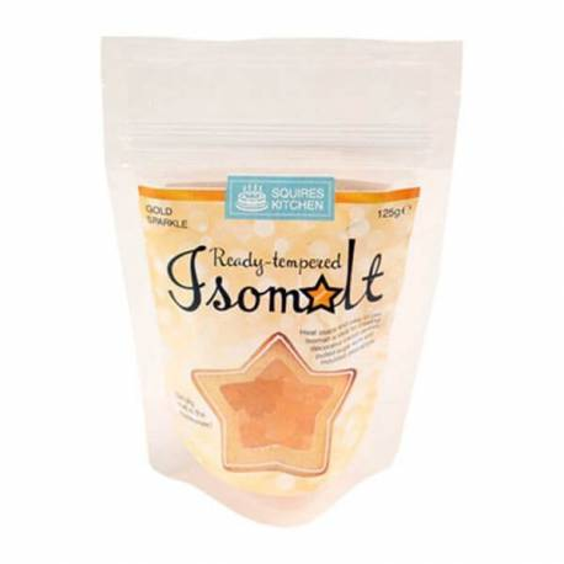 Isomalt or pailleté pré-tempéré - 125g